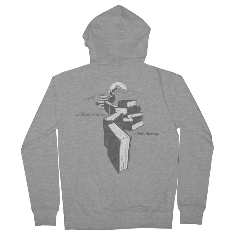 MY LIFE Women's French Terry Zip-Up Hoody by gotoup's Artist Shop