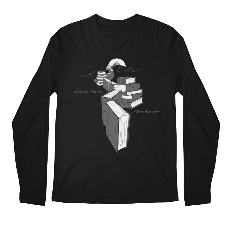 MY LIFE Men's Regular Longsleeve T-Shirt by gotoup's Artist Shop