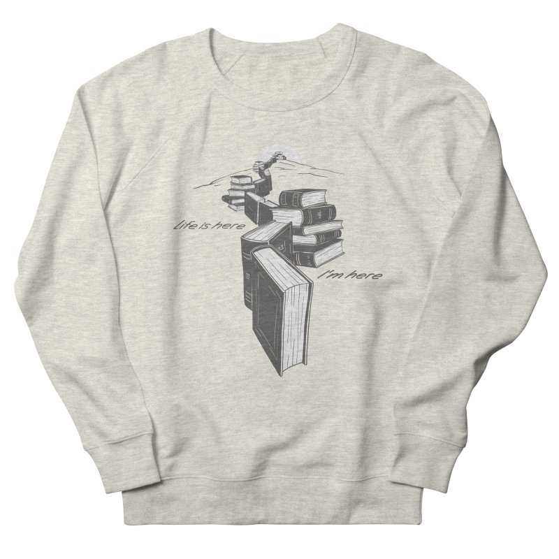 MY LIFE Men's French Terry Sweatshirt by gotoup's Artist Shop
