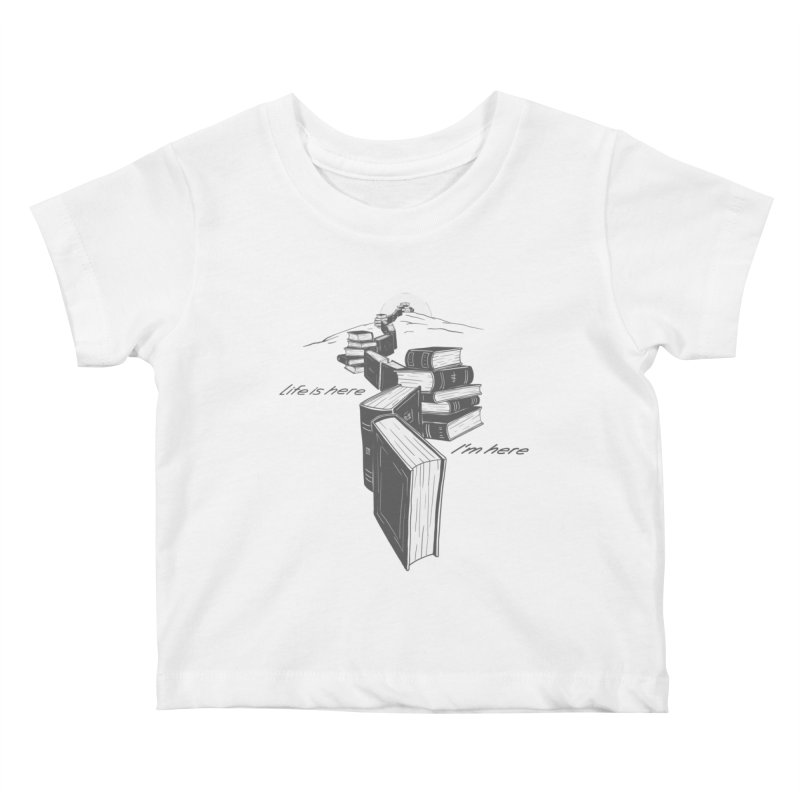 MY LIFE Kids Baby T-Shirt by gotoup's Artist Shop
