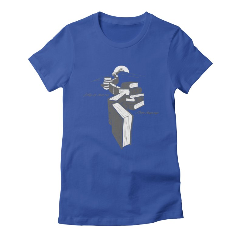 MY LIFE Women's Fitted T-Shirt by gotoup's Artist Shop