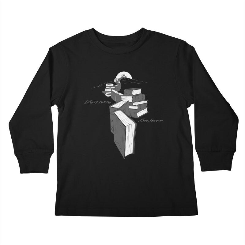 MY LIFE Kids Longsleeve T-Shirt by gotoup's Artist Shop