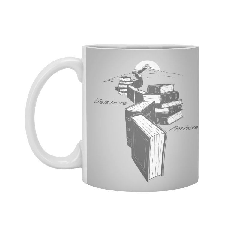 MY LIFE Accessories Standard Mug by gotoup's Artist Shop