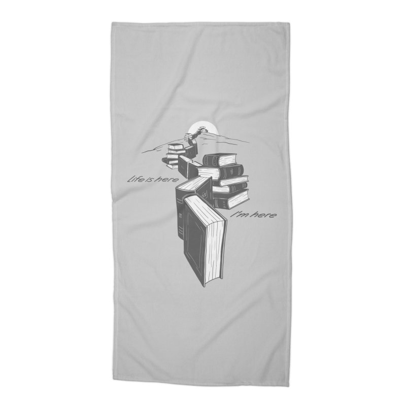 MY LIFE Accessories Beach Towel by gotoup's Artist Shop
