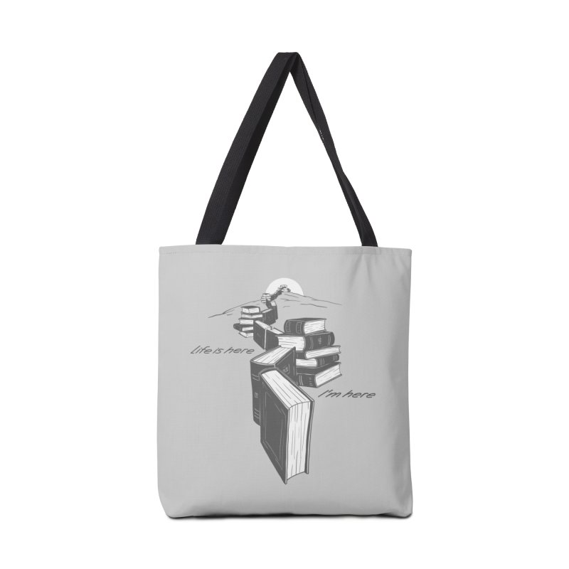 MY LIFE Accessories Tote Bag Bag by gotoup's Artist Shop