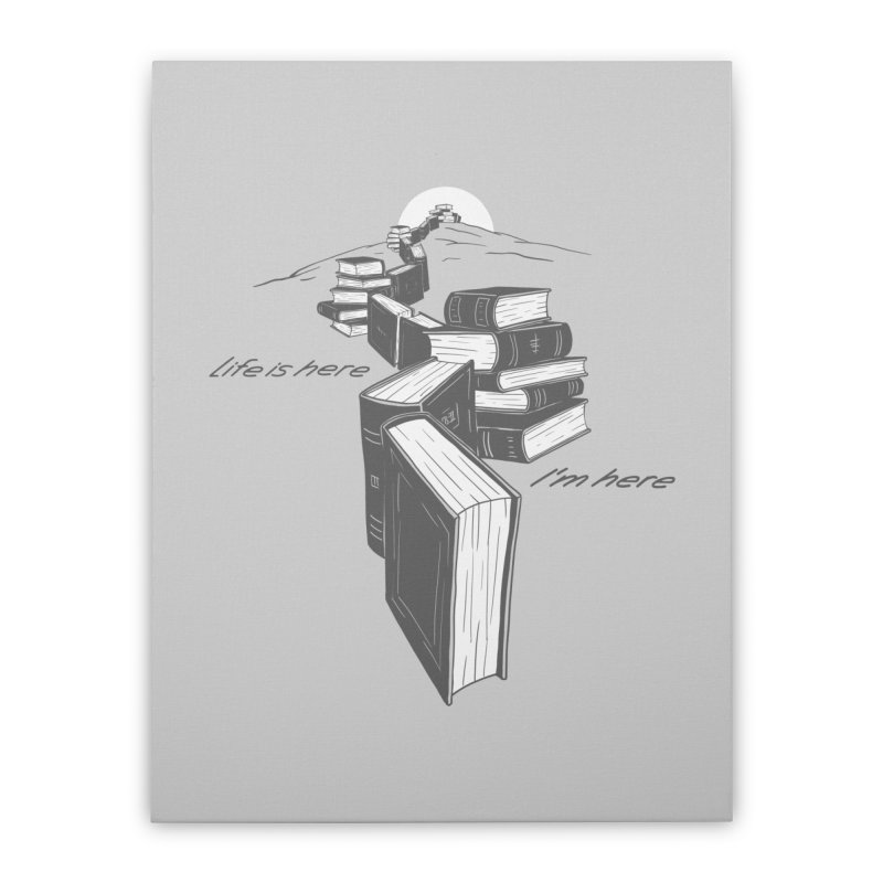 MY LIFE Home Stretched Canvas by gotoup's Artist Shop