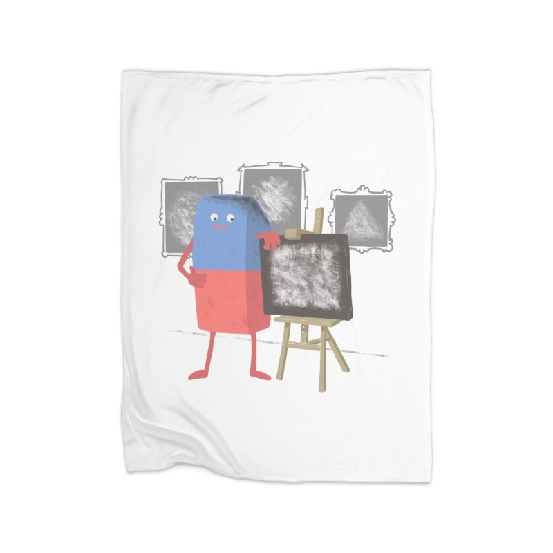 I'M AN ARTIST Home Fleece Blanket Blanket by gotoup's Artist Shop