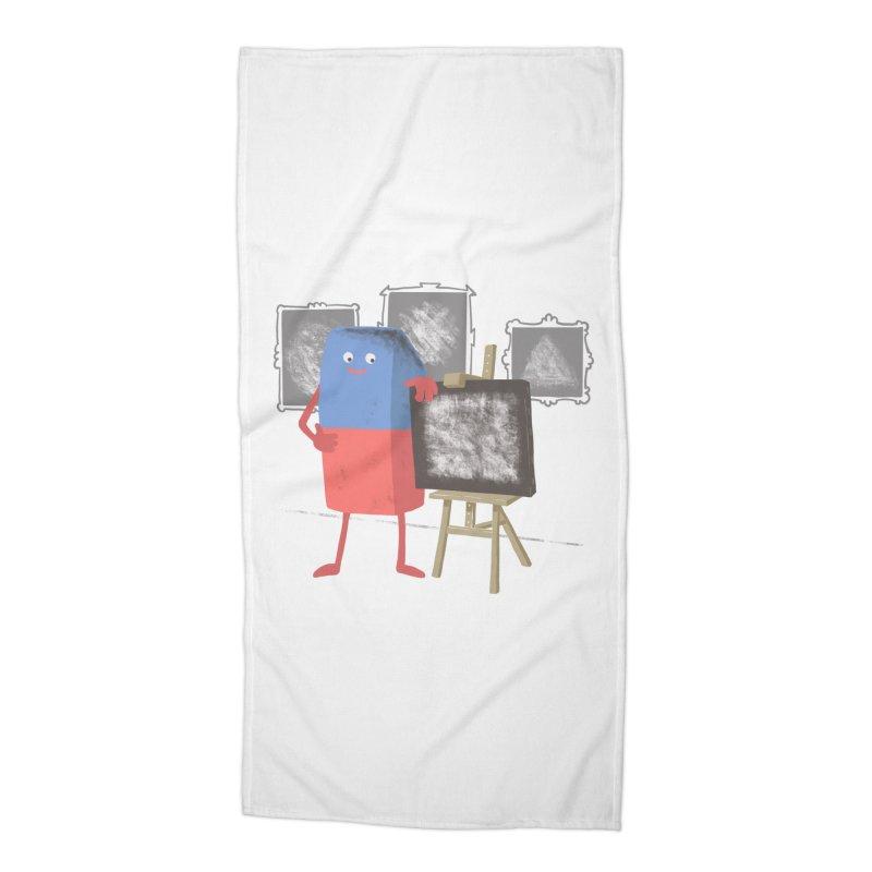 I'M AN ARTIST Accessories Beach Towel by gotoup's Artist Shop