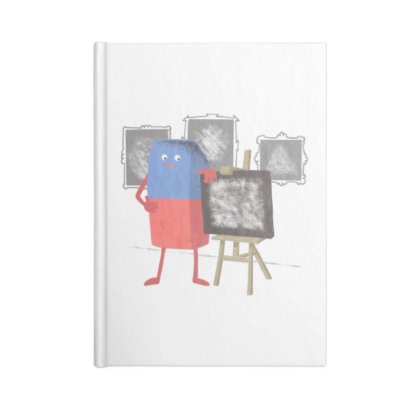 I'M AN ARTIST Accessories Blank Journal Notebook by gotoup's Artist Shop