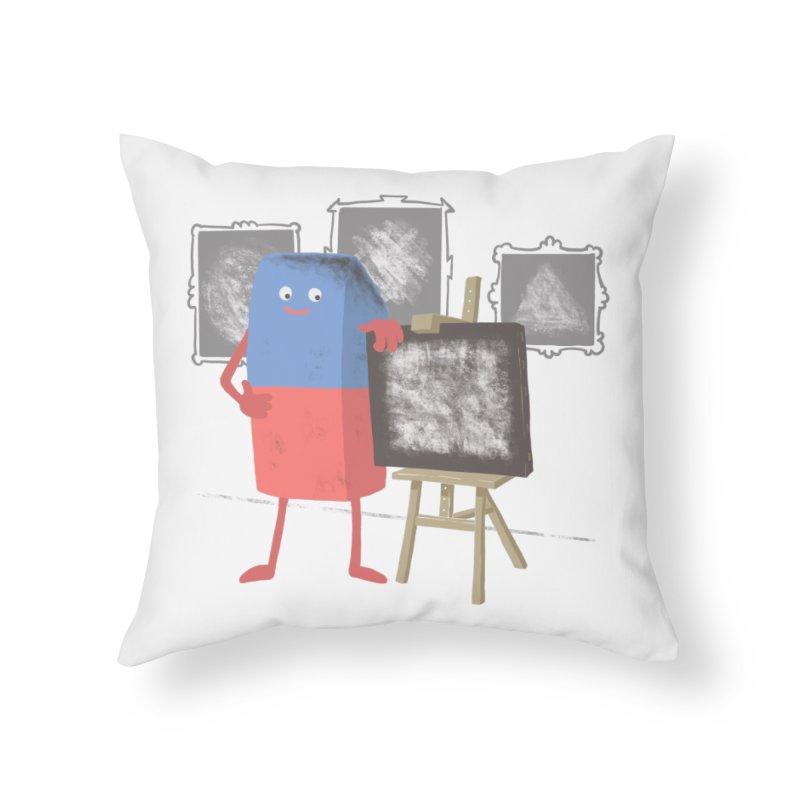 I'M AN ARTIST Home Throw Pillow by gotoup's Artist Shop