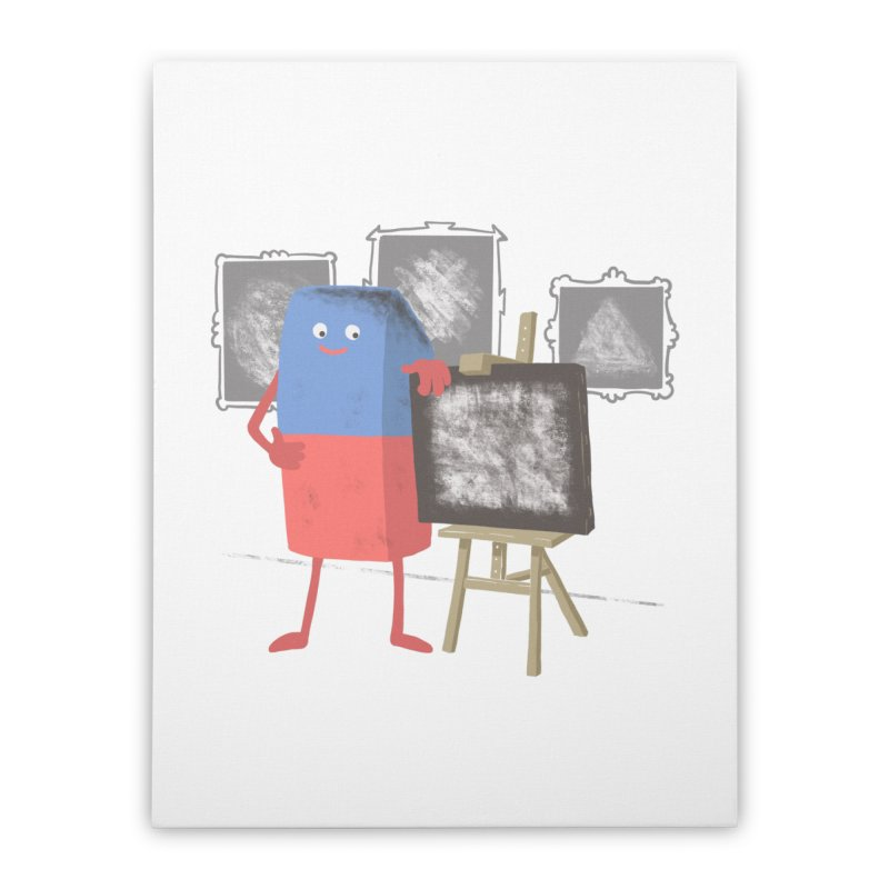 I'M AN ARTIST Home Stretched Canvas by gotoup's Artist Shop