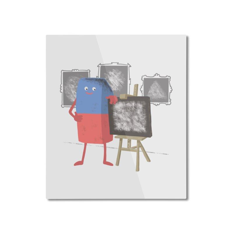 I'M AN ARTIST Home Mounted Aluminum Print by gotoup's Artist Shop