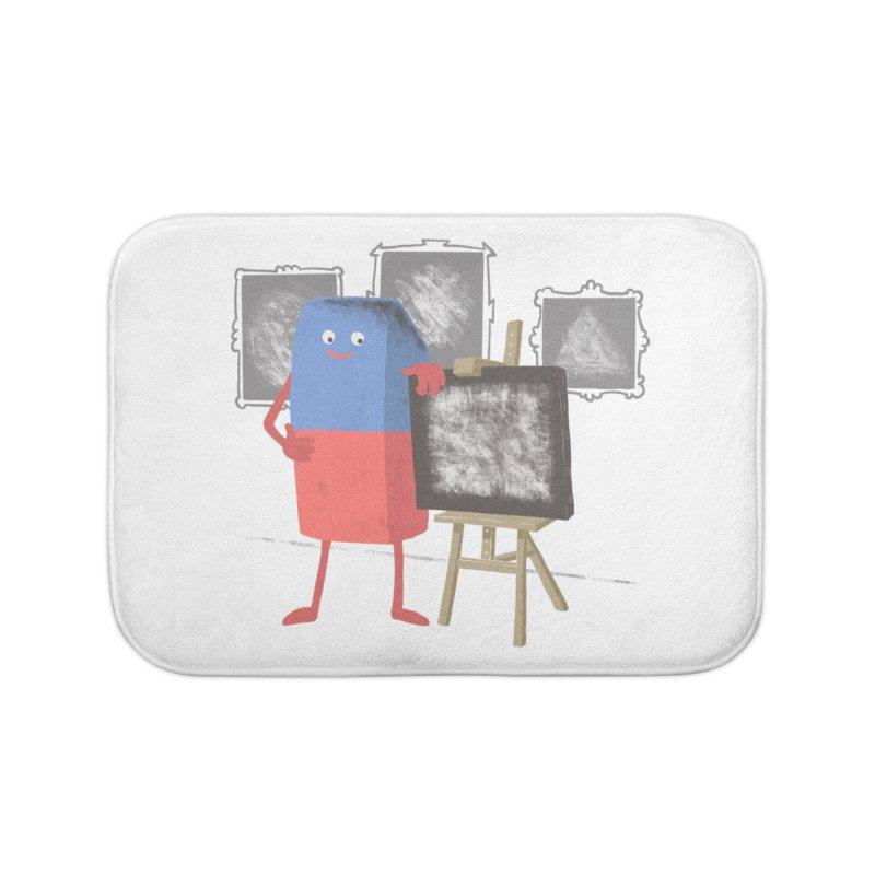 I'M AN ARTIST Home Bath Mat by gotoup's Artist Shop