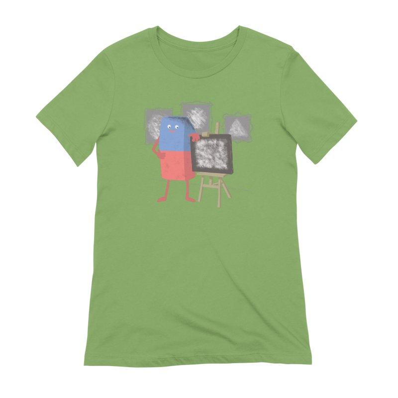 I'M AN ARTIST Women's Extra Soft T-Shirt by gotoup's Artist Shop