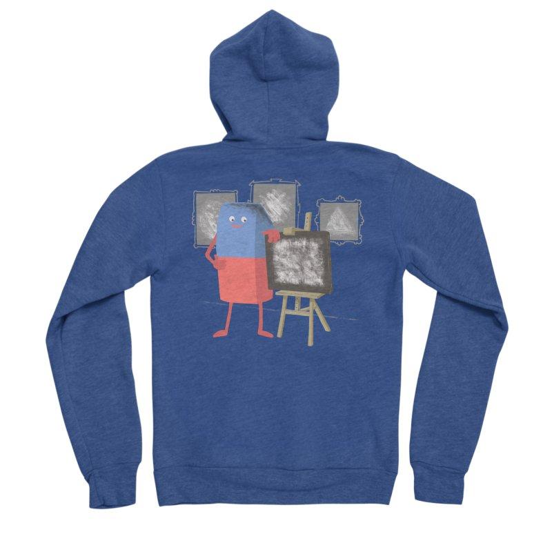 I'M AN ARTIST Men's Sponge Fleece Zip-Up Hoody by gotoup's Artist Shop