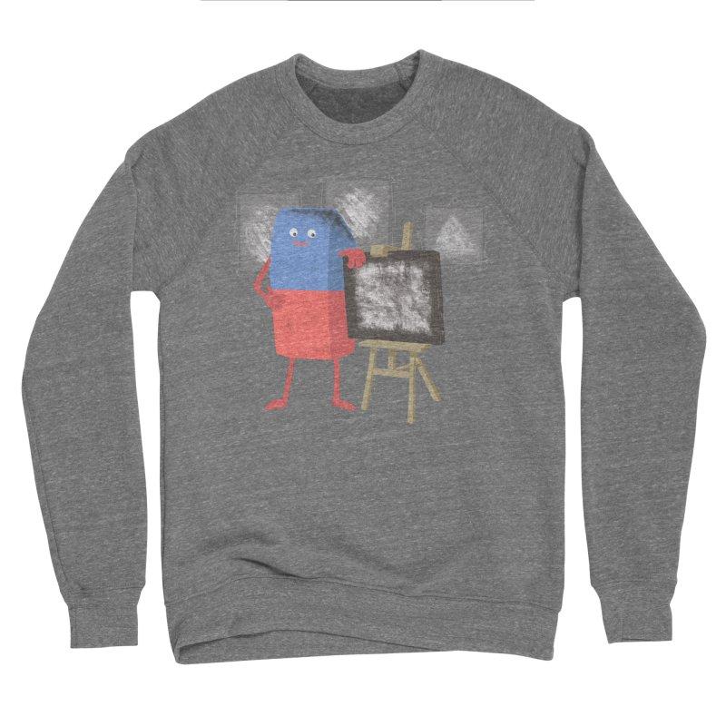 I'M AN ARTIST Men's Sponge Fleece Sweatshirt by gotoup's Artist Shop