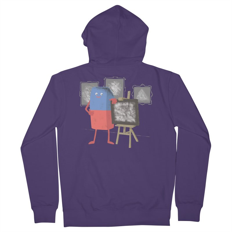 I'M AN ARTIST Women's French Terry Zip-Up Hoody by gotoup's Artist Shop