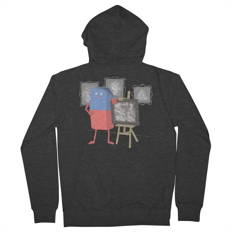 I'M AN ARTIST Men's French Terry Zip-Up Hoody by gotoup's Artist Shop