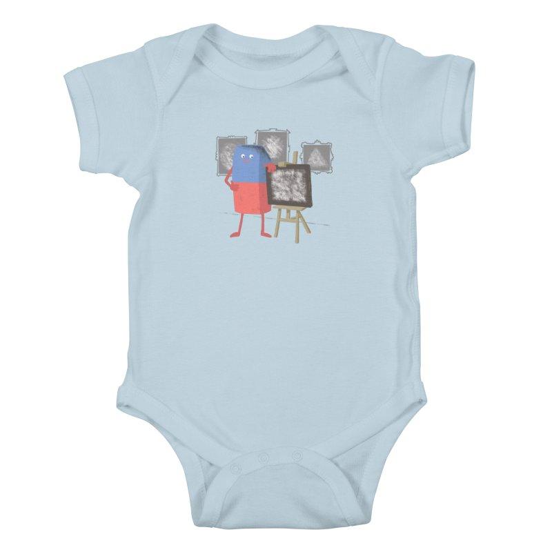 I'M AN ARTIST Kids Baby Bodysuit by gotoup's Artist Shop