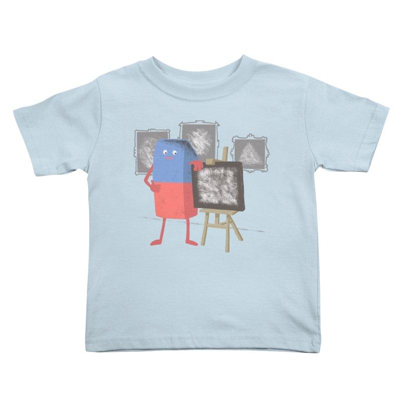 I'M AN ARTIST Kids Toddler T-Shirt by gotoup's Artist Shop