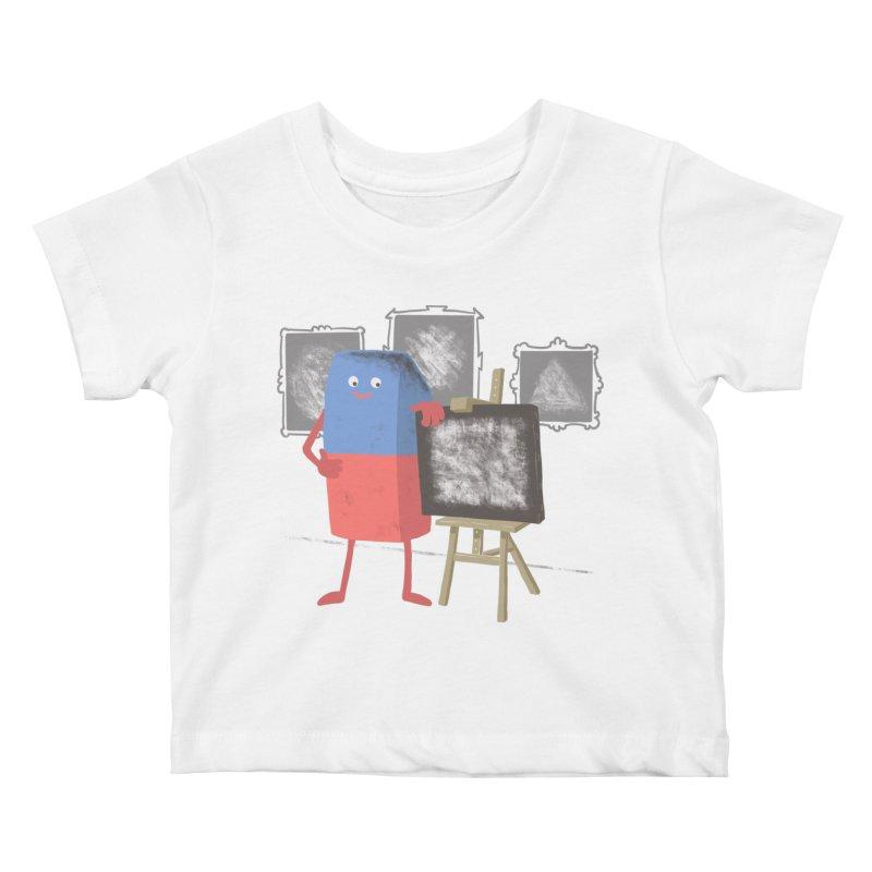 I'M AN ARTIST Kids Baby T-Shirt by gotoup's Artist Shop
