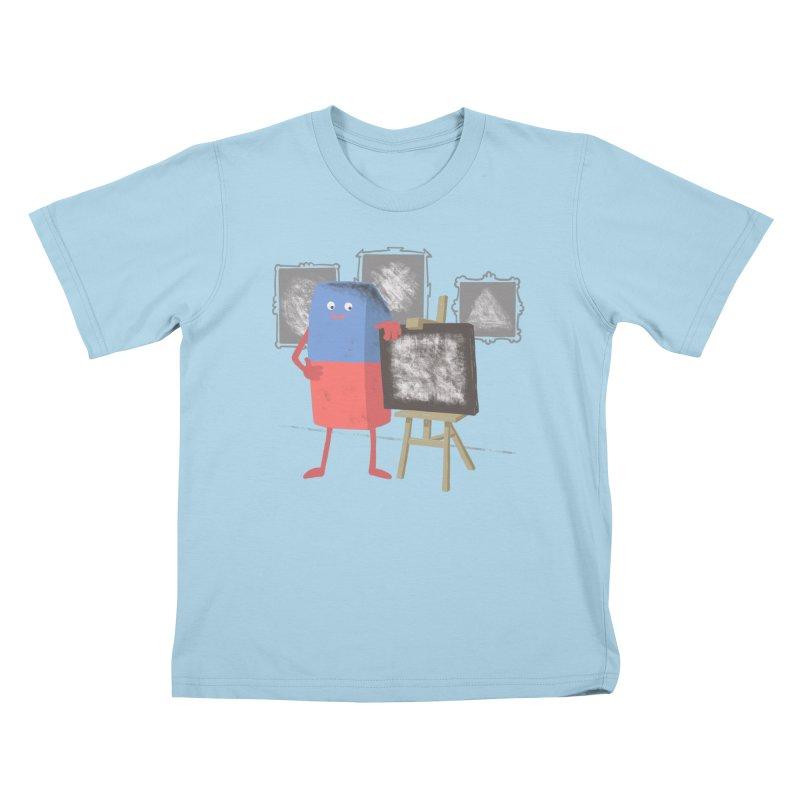 I'M AN ARTIST Kids T-Shirt by gotoup's Artist Shop