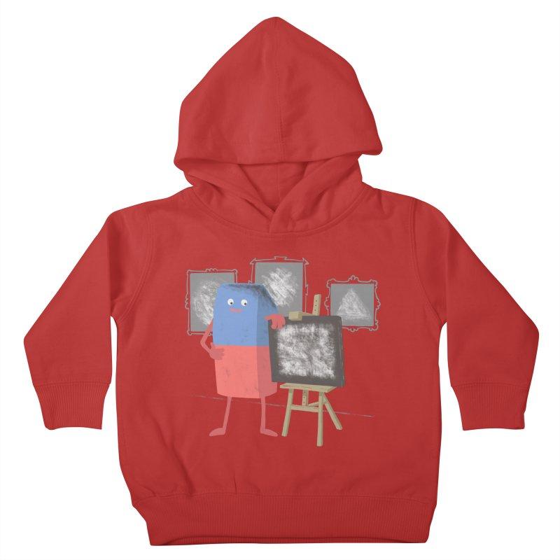 I'M AN ARTIST Kids Toddler Pullover Hoody by gotoup's Artist Shop
