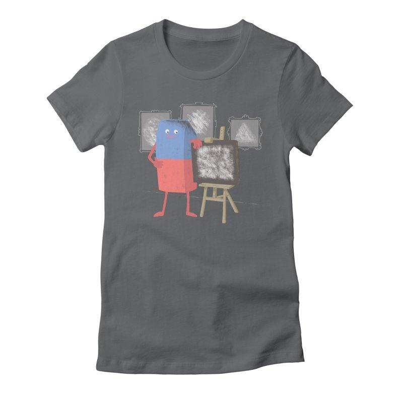 I'M AN ARTIST Women's Fitted T-Shirt by gotoup's Artist Shop