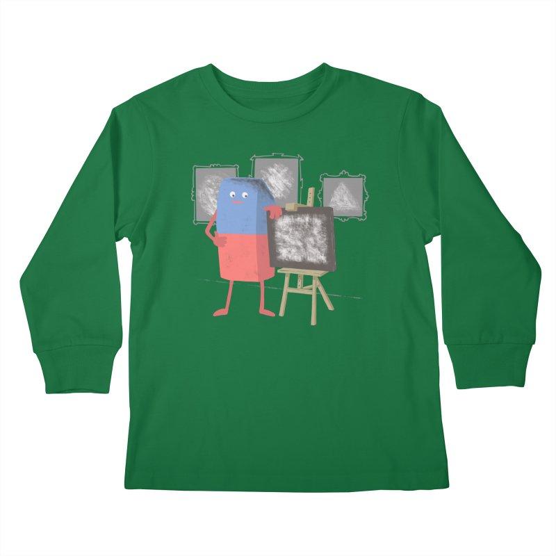 I'M AN ARTIST Kids Longsleeve T-Shirt by gotoup's Artist Shop