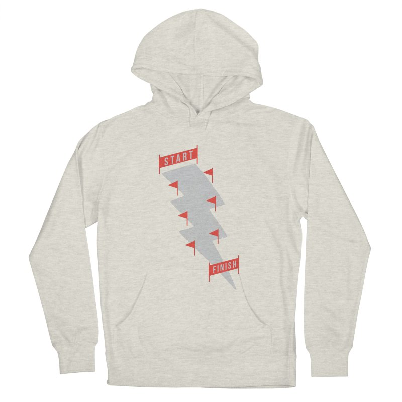 slalom Men's French Terry Pullover Hoody by gotoup's Artist Shop