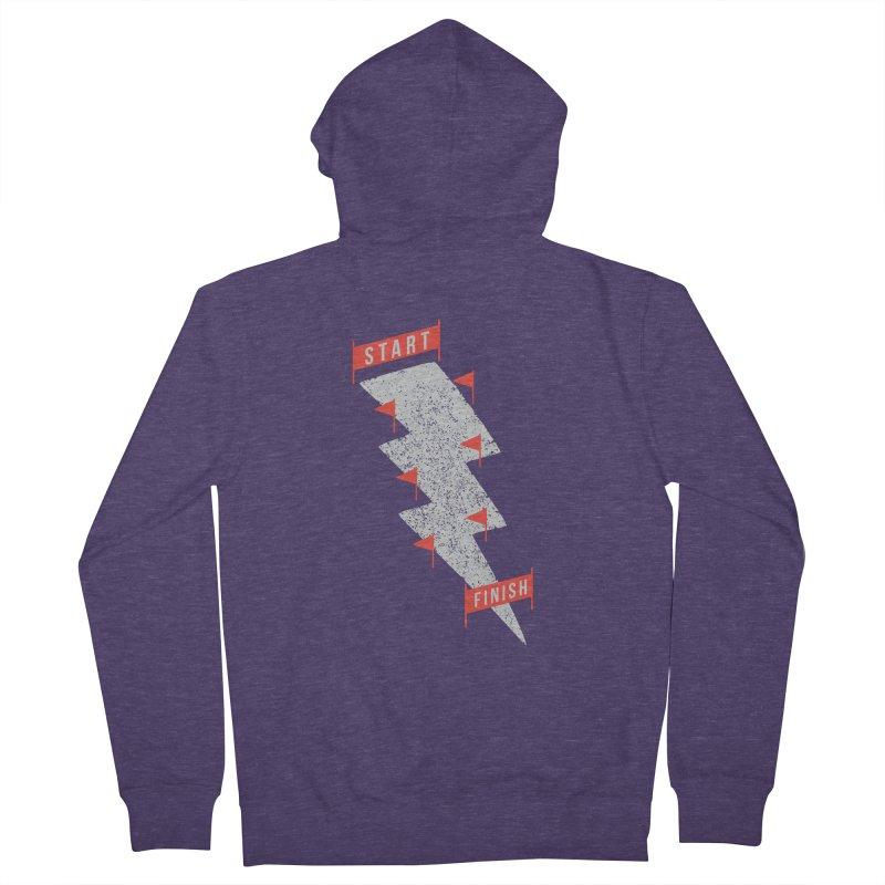 slalom Men's Zip-Up Hoody by gotoup's Artist Shop