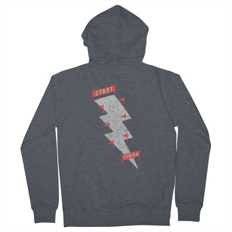 slalom Men's Zip-Up Hoody by gotoup's Artist Shop