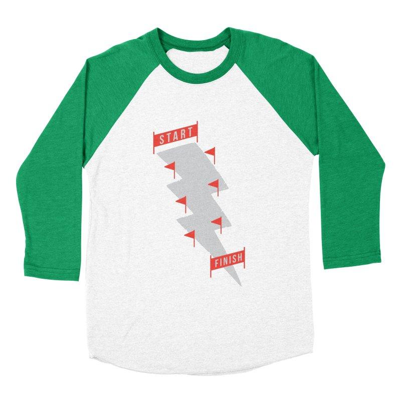 slalom Men's Baseball Triblend Longsleeve T-Shirt by gotoup's Artist Shop