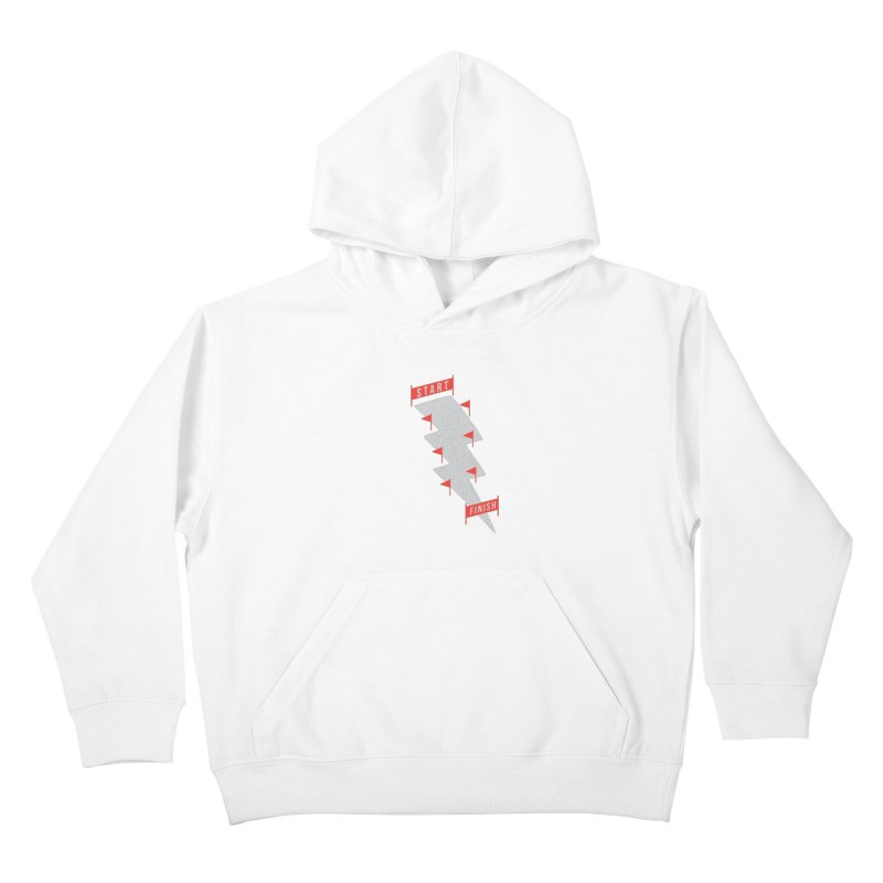 slalom Kids Pullover Hoody by gotoup's Artist Shop