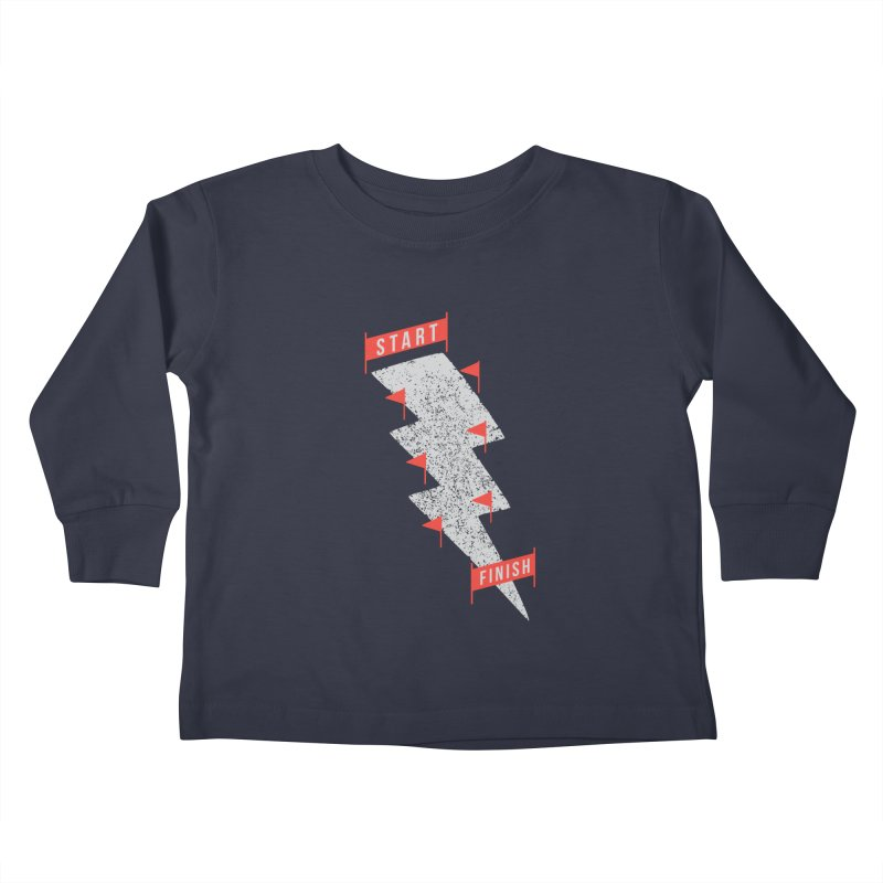 slalom Kids Toddler Longsleeve T-Shirt by gotoup's Artist Shop