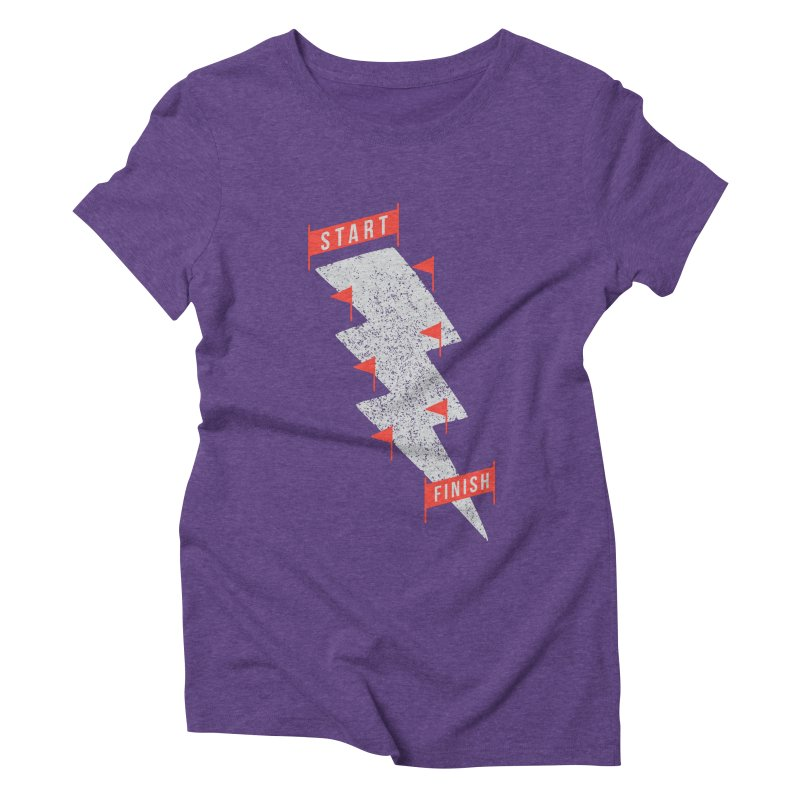 slalom Women's Triblend T-shirt by gotoup's Artist Shop