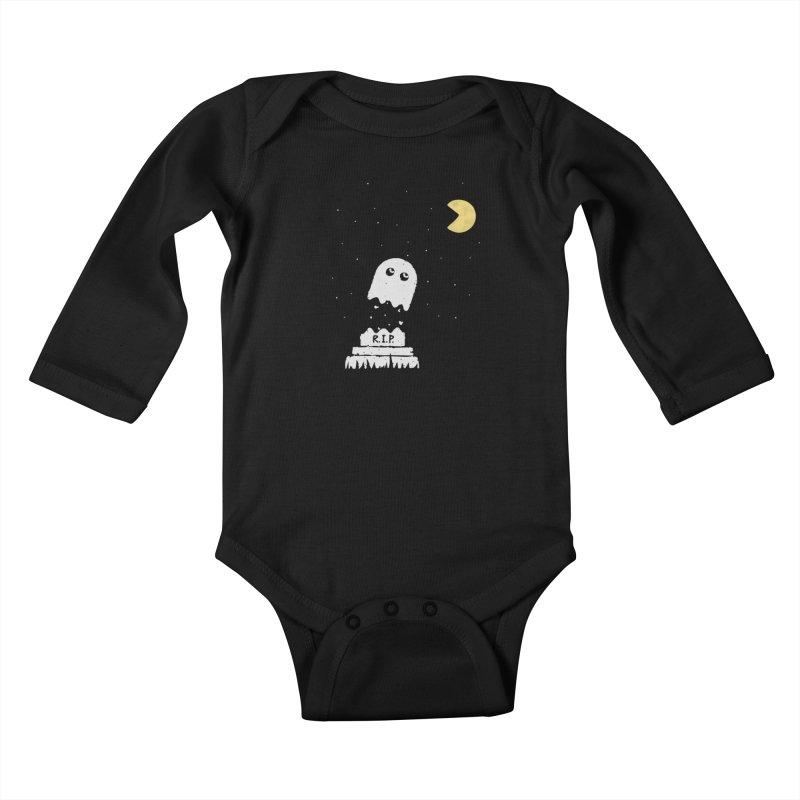 RIP Kids Baby Longsleeve Bodysuit by gotoup's Artist Shop