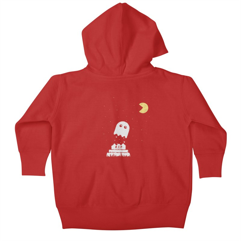 RIP Kids Baby Zip-Up Hoody by gotoup's Artist Shop