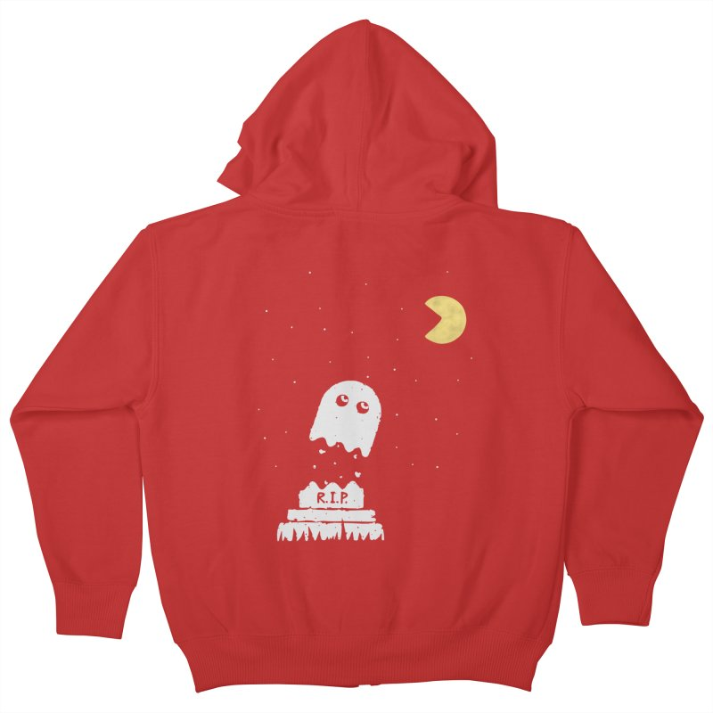 RIP Kids Zip-Up Hoody by gotoup's Artist Shop