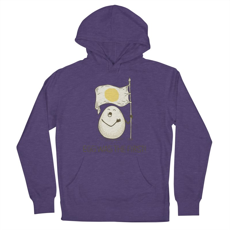 anthem of eggs  Women's Pullover Hoody by gotoup's Artist Shop