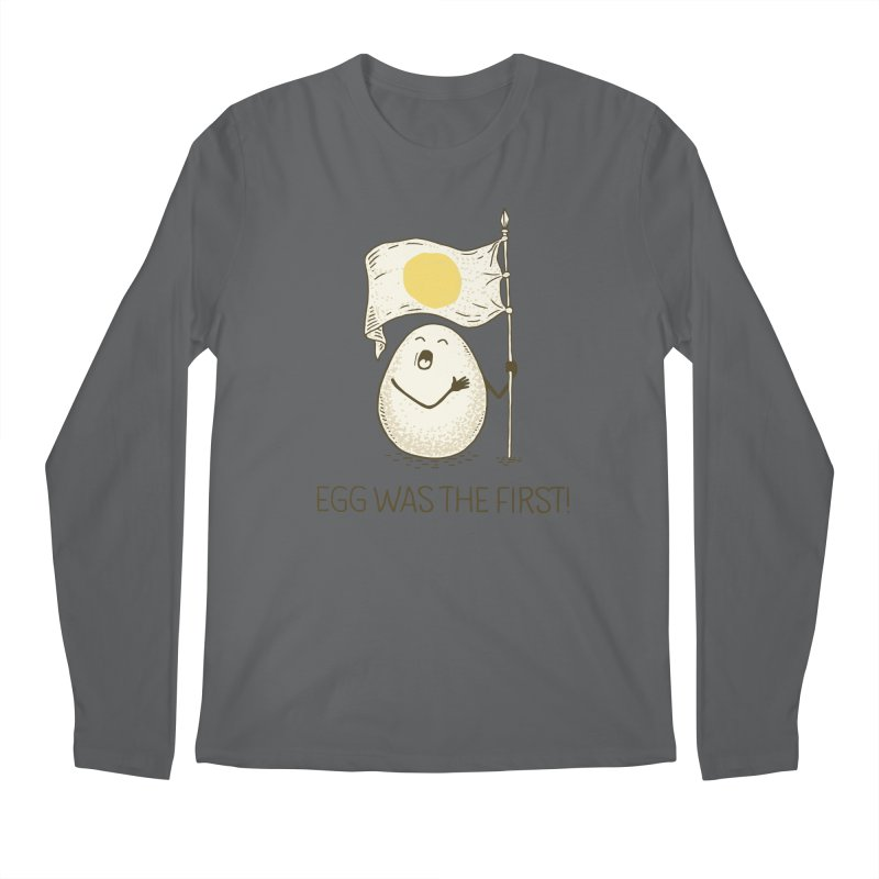 anthem of eggs  Men's Longsleeve T-Shirt by gotoup's Artist Shop