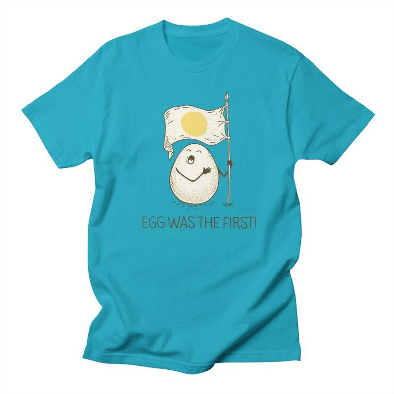 anthem of eggs  Men's Regular T-Shirt by gotoup's Artist Shop