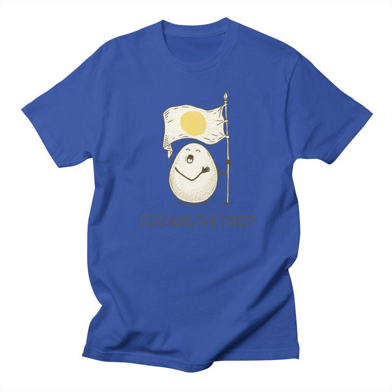 anthem of eggs  Men's T-Shirt by gotoup's Artist Shop