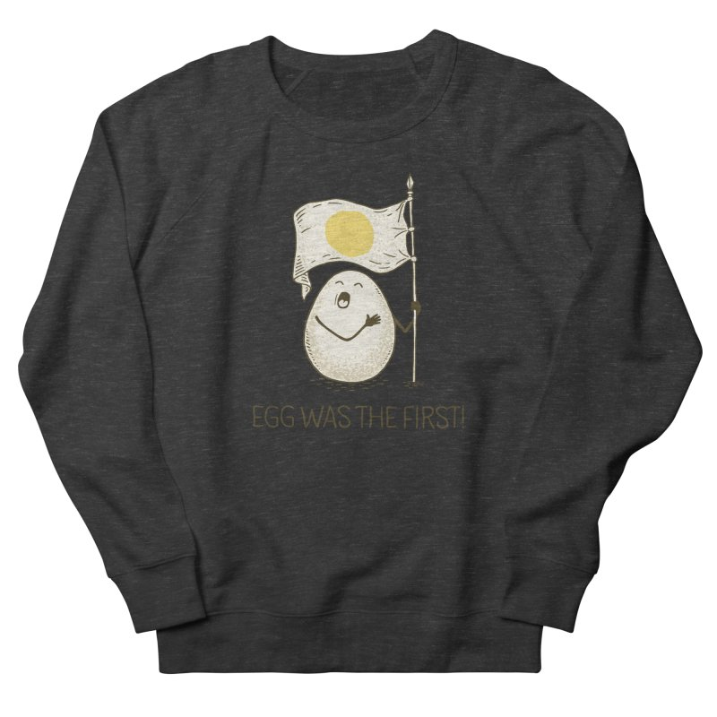 anthem of eggs  Women's French Terry Sweatshirt by gotoup's Artist Shop