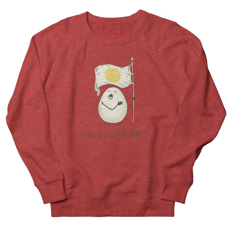 anthem of eggs  Women's Sweatshirt by gotoup's Artist Shop