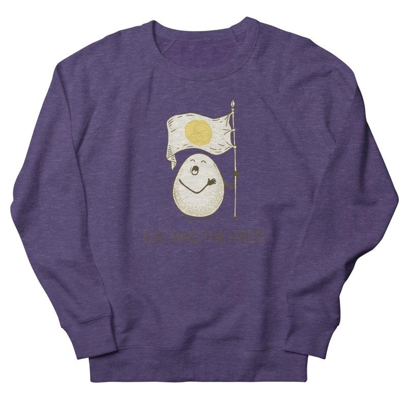 anthem of eggs  Men's Sweatshirt by gotoup's Artist Shop