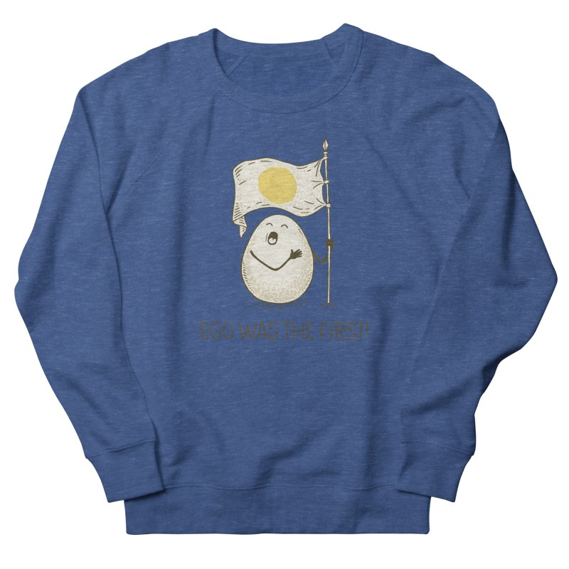 anthem of eggs  Men's French Terry Sweatshirt by gotoup's Artist Shop