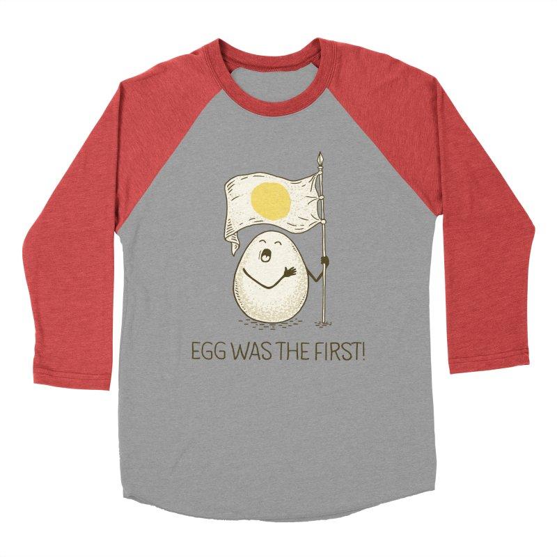anthem of eggs  Women's Baseball Triblend T-Shirt by gotoup's Artist Shop
