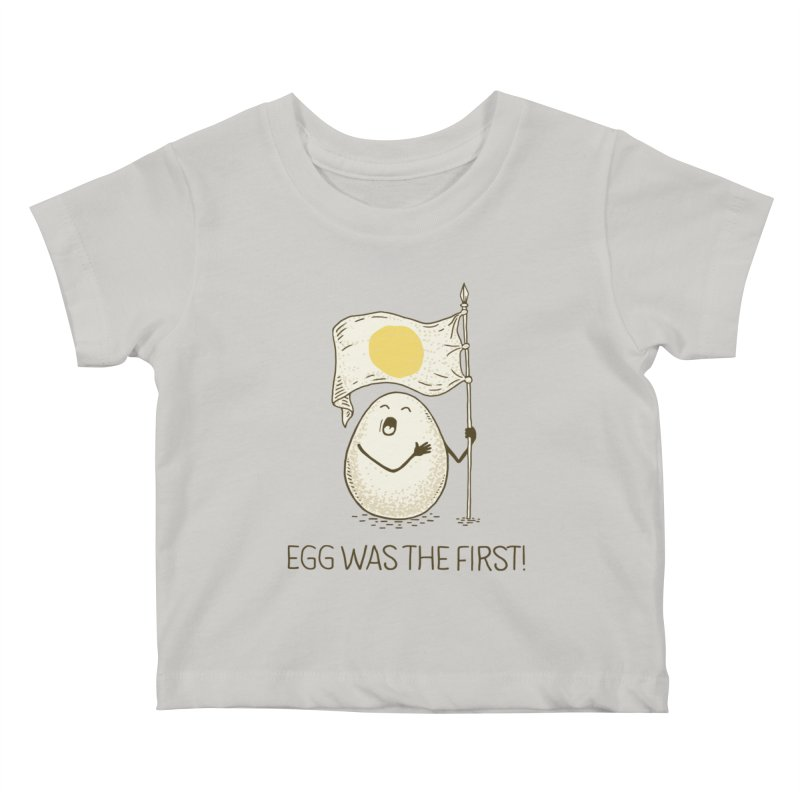 anthem of eggs  Kids Baby T-Shirt by gotoup's Artist Shop