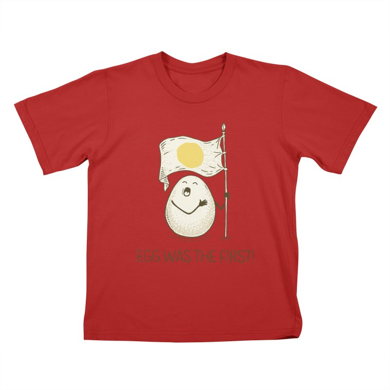anthem of eggs  Kids T-shirt by gotoup's Artist Shop